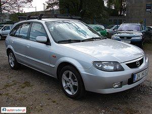 Mazda 323F 2.0 2002 r. - zobacz ofertę