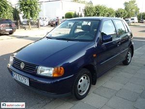 Volkswagen Polo 1.0 1999 r.,   4 999 PLN