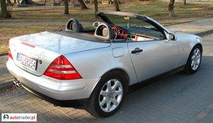 Mercedes SLK 200 2.0 1999 r. - zobacz ofertę