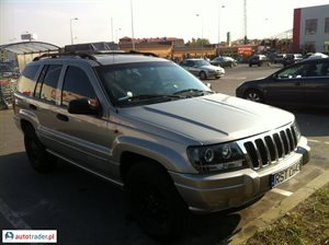 Jeep Grand Cherokee 1999 4.0 190 KM