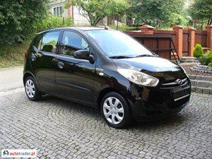 Hyundai i10 1.1 2012 r. - zobacz ofertę