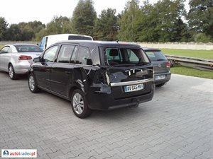 Opel Zafira 1.7 2008 r.,   14 500 PLN