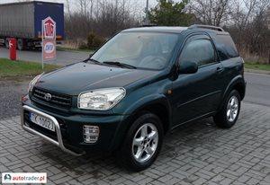 Toyota RAV-4 2.0 2001 r. - zobacz ofertę