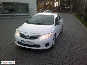 Toyota Corolla 1.4 2012 r.,   39 800 PLN