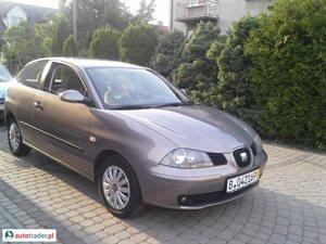 Seat Ibiza 1.4 2005 r.,   12 500 PLN