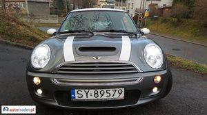 Mini Cooper 1.6 2003 r.,   22 200 PLN
