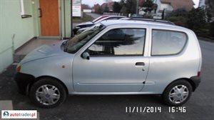 Fiat Seicento 0.9 2000 r. - zobacz ofertę