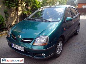 Nissan Almera Tino 2.0 2001 r. - zobacz ofertę