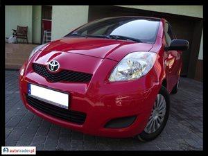 Toyota Yaris 1.3 2009 r. - zobacz ofertę