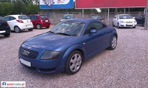 Audi TT 1,8T 1.8 2001 r. - zobacz ofertę