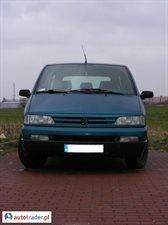 Peugeot 806 1995 1.9 90 KM