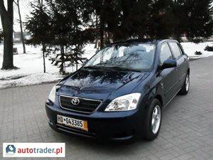 Toyota Corolla 2.0 2003 r. - zobacz ofertę