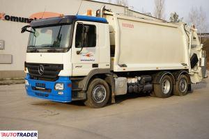 Mercedes Actros 2532 śmieciarka trzyosiowa NORBA 20m3 EURO 5 - zobacz ofertę