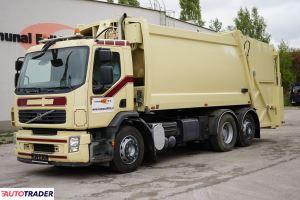Volvo FE śmieciarka 2 KOMORY do segregowania Schorling 22m3 EURO 5 - zobacz ofertę