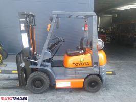 TOYOTA-z gwarancją 6FG15-wózek widłowy - zobacz ofertę