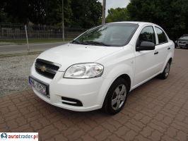 Chevrolet Aveo 1.2 PLUS(abs,klm) salon-PL, 1-wł 2007r. - zobacz ofertę