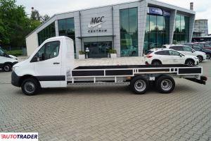 Mercedes   516 CDI 3 osie WSZELKIE MOŻLIWE  ZABUDOWY Jedyny nieprzeciążon - zobacz ofertę