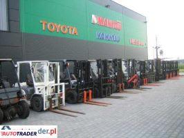 Toyota- wózki widłowe z gwarancj NOWE