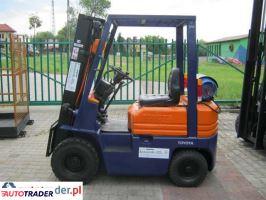 TOYOTA-z gwarancją 5FG15-wózek widłowy - zobacz ofertę