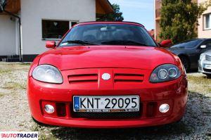 MG TF 2003 1.6 116 KM