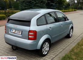 Audi A2 2002 1.4 75 KM