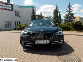 BMW 740 I wł. salon PL Serwis ASO Gwarancja do 2018r 3.0 2012r. - zobacz ofertę