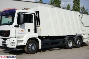 Man TGS 26.320 śmieciarka trzyosiowa FAUN 524 24m3 EURO 5 - zobacz ofertę