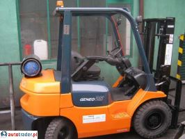 TOYOTA 42-7FGF25-wózek widłowy  2006r.,   39 900 PLN
