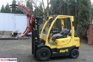 Wózek widłowy HYSTER H 2.5 FT TRIPLEX wolny skok 2006 rok - zobacz ofertę