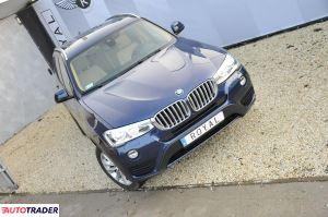 BMW X3 2016 2 245 KM
