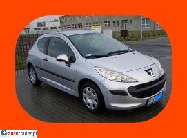 Peugeot 207 HDI KLIMA ELEKTR_SZYBY 4xAIRBAG 1.4 2008r. - zobacz ofertę