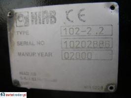 Dźwigi  Kerax 300+ HDS Hiab