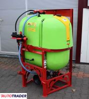 DEMAROL Opryskiwacz 400 litrów Lanca 12 metrów głowice potrójne - zobacz ofertę