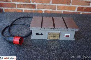 Stół elektromagnetyczny 170x320 mm W-105 mm 380 Volt - zobacz ofertę
