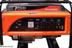 Agreagty prądotwórcze Kipor Pezal PGG2800X - zobacz ofertę